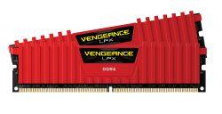 CORSAIR - DDR4 16GB 2X8GB PC4000 VENGEANCE LPX SERIES RED CMK16GX4M2E4000C19R