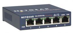 NETGEAR - ProSafe 5 Port 10 / 100 Desktop Switch