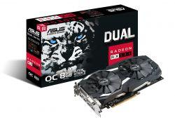 ASUS - Dual series Radeon RX 580 OC edition 8GB GDDR5