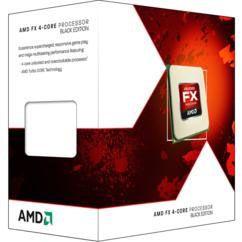 AMD FX 4350 4.2GHz 4MB L2 Caixa processador