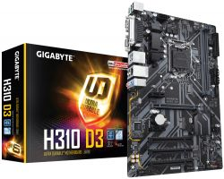 GIGABYTE - MB H310D3 1151 ATX 2XDDR4