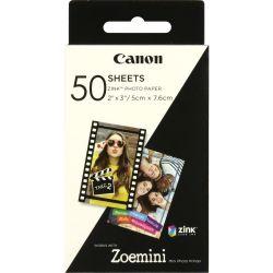 CANON - Papel Fotográfico ZINK ZP-2030 50 Folhas 2x3