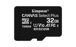 KINGSTON - SD 32GB MICRO SDHC 100R A1 C10 CARD C/ADAPTADOR