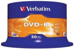 VERBATIM - DVD -R 4.7GB 16X SPINDLE 50 ADVANCED AZO