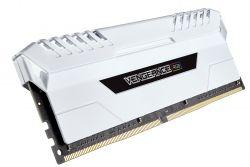 CORSAIR - MEMORIA DDR4 32GB 4X8GB PC 3000 VENGEANCE WHITE RGB CMR32GX4M4C3000C16W