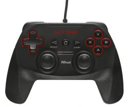 TRUST - GAMEPAD GXT 540 PARA PC/ PS3. PRETO (20712)