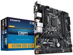 Gigabyte - MOTHERBOARD 1151-8G H370M D3H GSM