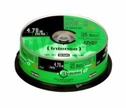 INTENSO - DVD-R 4.7GB, 16X 4.7GB DVD-R 25Unid