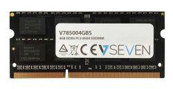 V7 - 4GB DDR3 1066MHZ CL7 MEM SO DIMM PC3-8500 1.5V
