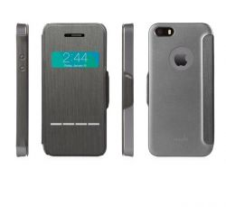 MOSHI - SENSECOVER IPHONE 5 / 5S (STEEL BLACK)