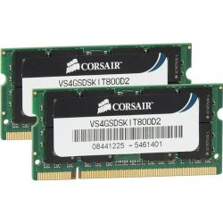 CORSAIR - DDR2 800 MHZ 4GB 2X200 SO UNBUFFERED CL5