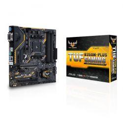 ASUS - MB TUF B350M-PLUS GAMING B350 AM4 4XDDR4 1XHDMI/1XDVI/1XDSUB