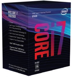 INTEL - Core I7-8700 3.2GHz 12MB LGA 1151 ( Coffee Lake)  (Requer board c/ chipset série 300)