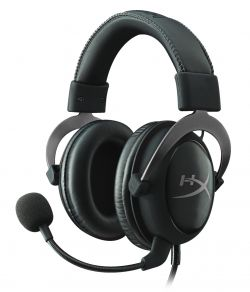 HYPERX - Auscultadores CLOUD II GAMING GUN METAL