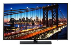 SAMSUNG - HG43EE690DB - 43P Classe - HE690 Series TV LED - hotel / hospitalidade - Smart TV - 1080p (Full HD) 1920 x 1080 - titnio escuro