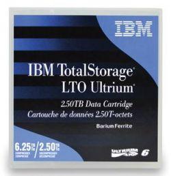 IBM - Cart.IBM Ultrium LTO-6 (BaFe) etiquetado 2,5TB/6,25TB