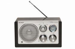 DENVER - TR-61 Portátil Preto Rádio