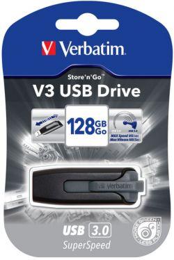 VERBATIM - VERBATIM PEN STORE N GO V3 128GB USB 3.0  BLA