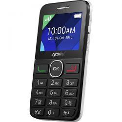 ALCATEL - IBERIA 20.08G BLACK WHITE GSM 2.4IN LQVGA 8MB RAM 2 MPX