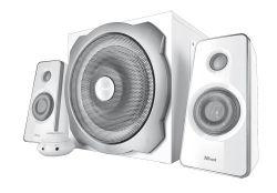 TRUST - Colunas TRUST - TYTAN 2.1 Speaker SET - WHITE - 18789