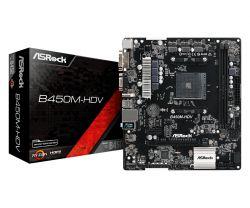 ASROCK - B450M-HDV AMD B450 SOCKET AM4 MICRO ATX