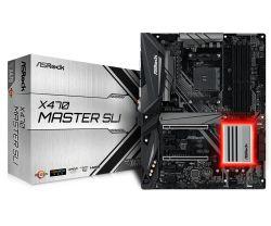 ASROCK - X470 MASTER SLI AMD X470 SOCKET AM4 ATX PLACA BASE