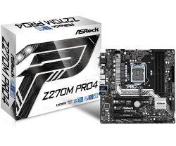 ASROCK - Z270M PRO4 INTEL 1151 (K) Z270 MATX