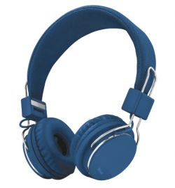 TRUST - AUSCULTADORES ZIVA FOLDABLE P/ SMARTPHONE E TABLET BLUE - 21823