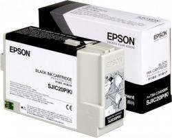 EPSON - Ink Cart /  Black for TM-C3400BK