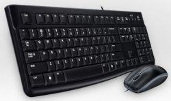 LOGITECH - Desktop MK120 - Conjunto de teclado e rato - USB - Inglês (Layout não português)