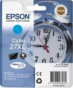 EPSON - Singlepack Cyan 27XL DURABrite Ultra Ink