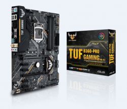 ASUS - PLACA TUF B360-PRO GAMING (WI-FI), INTEL, 1151 (K), B360