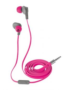 TRUST - HEADPHONES AURUS WATERPROOF IN-EAR PINK - 21019