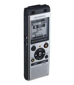 OLYMPUS - WS-852 (4GB) - Gravador de audio com reprodução de MP3, inclui bateria - Silver