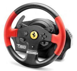 GUILLEMOT - ThrustMaster T150 Ferrari Edition - volante e pedais - com cabo - para PC, Sony PlayStation 3, Sony PlayStation 4