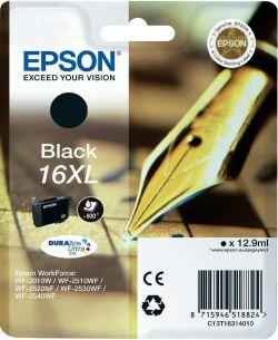 EPSON - SINGLEPACK PRETO 16XL DURABRITE ULTRA I