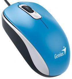 GENIUS - DX-110 USB Ótico 1000DPI AMBIDEXTRO AZUL Rato