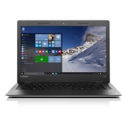 LENOVO - IdeaPad 100S-14IBR-609 - Intel Celeron N3060 1,6GHz, 4GB DDR3 1600, 32GB eMMC, Integrated, 14P, Windows 10 Home - Silver