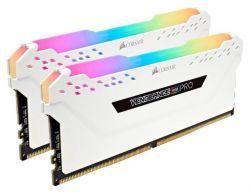 CORSAIR - DDR4, 2666MHz 32GB 4 x 288 DIMM, Unbuffered, 16-18-18-35, Vengeance RGB PRO Branco Heat spreader,RGB LED, 1.2V, XMP 2.0