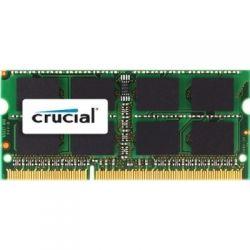 CRUCIAL - 8GB DDR3 1333 MT/S CL9 PC3-10600 SODIMM 204PIN PARA MAC