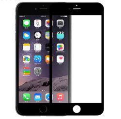 DEVIA - Proteção de vidro curva ecrã completo para iPhone 6/6S Preto