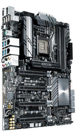 ASUS - Z270-WS INTEL 1151 (K) Z270 4DDR4 64GB HDMI+DP 2XGBLAN 6SATA3 9USB3.1