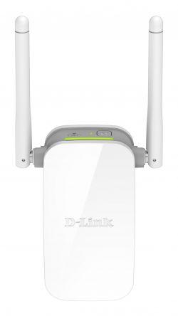 D-LINK - Wireless N300 Range Extender + external Antena + 1p 10/100