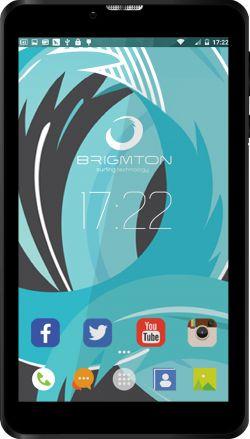 BRIGMTON - Tablet 7P HD IPS 3G BTPC-PH6 QC DSIM Preto