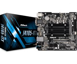 ASRock - MB Intel J4105-ITX Gemini Lake
