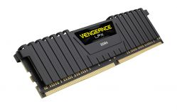 CORSAIR - DDR4 16GB 2X8GB PC 3200 VENGEANCE LPX BLACK CMK16GX4M2B3200C16