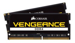 CORSAIR - DDR4 2400MHZ 16GB 2X260 SO UNBUFFERED 16-16-16-39 BLACK PCB 1.2V INTEL 6TH GENERATION INTEL CORE? I5AND I7 PROCESSOR SUPPORTS