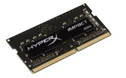 HYPERX - IMPACT BLACK SO DDR4 8GB 2400MHZ CL14 HX424S14IB2/8