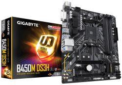 Gigabyte - MB B450M DS3H mATX AM4