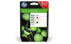 HP - Pack 4 Tinteiros 953XL CMYK